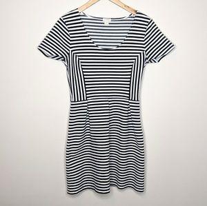 EUC JCREW striped dress 6